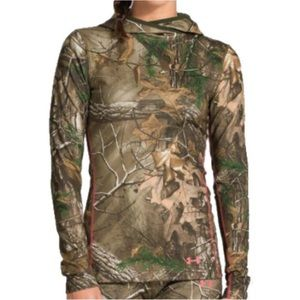 Under Armour RealTree Cold Gear Hoodie- Lg